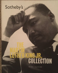 [Auction Catalog] Martin Luther King Jr. Collection. Sotheby's June 30, 2006.