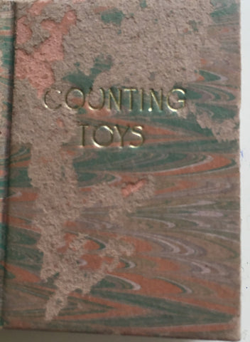 (Miniature Book) Counting Toys. D. Thomas. 1/200 copies. [1987].