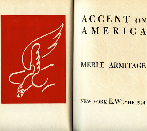 Inscribed!  Accent on America.  [1944]