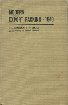 Modern Export Packaging.  [1940]