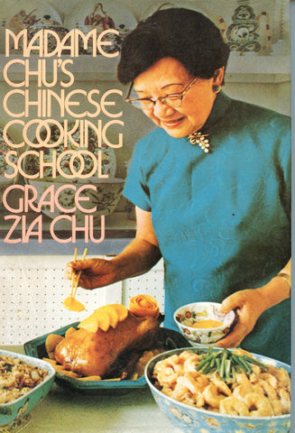 (Inscribed!)  Madame Chu's Chinese Cooking School.  [[1975].