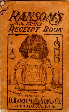 (Housekeeping)  Ransom's Receipt Book.  [1906].