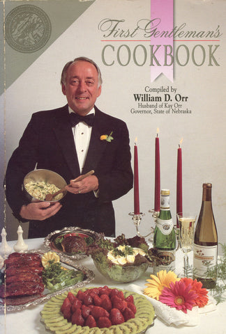 (Inscribed!)  First Gentleman's Cookbook.  Compiled by William D. Orr.  [1989].