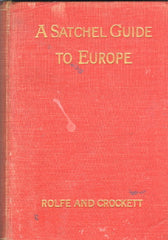 A Satchel Guide to Europe. 1929
