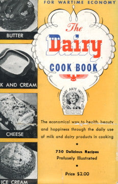 The Dairy Cookbook.  Edited by Ruth Berolzheimer.  [1941].