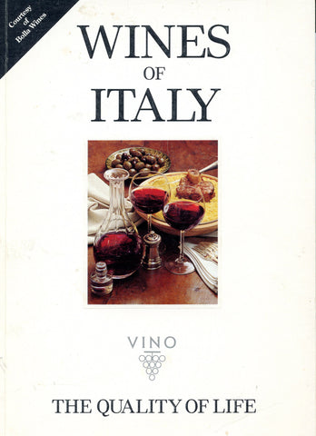 (Wine)  {Italy}  Wines of Italy.  By Burton Anderson.  [1994].