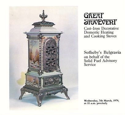 (Auction Catalog)  Great Stovevent.  Sotheby's Belgravia.  [1979].