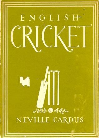 (Cricket)  English Cricket.  By Neville Cardus.  [1947].