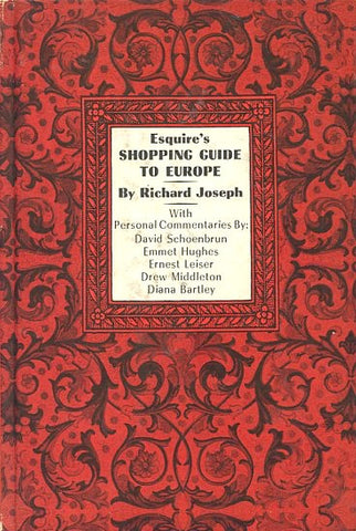 (Travel)  Esquire's Shopping Guide to Europe.  By Richard Joseph.  [1961].