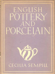 English Pottery and Porcelain 1948