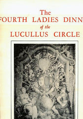 """Life at the Court of Louis XIV."" Lucullus Circle Menu 1959"