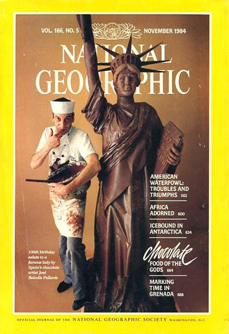 (Chocolate)  National Geographic. [November, 1984].