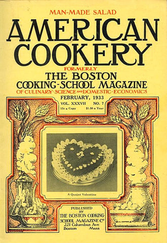(Periodical) American Cookery. [Feb., 1933].