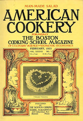 (Periodical) American Cookery. Boston: The Boston Cooking School Magazine Co., Feb., 1933.