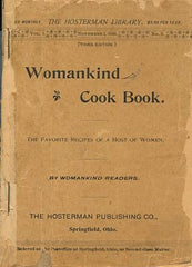 Womankind Cook Book. [1895].