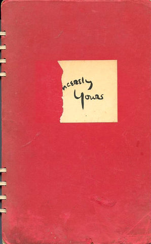 Sincerely Yours. Compiled by Bess Boardman. [1942]