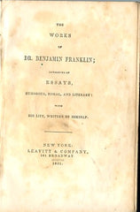 The Works of Dr. Benjamin Franklin. 1851