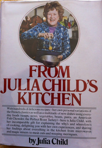 (Signed!)  From Julia Child's Kitchen.  By Julia Child.  1st edition.  [1975].