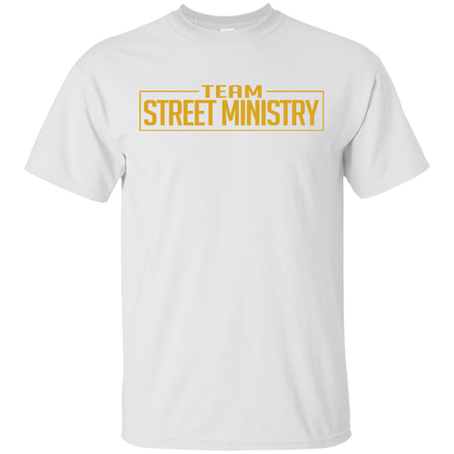 Team Street Ministry - White w/Gold