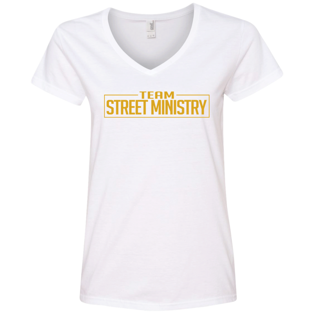 Team Street Ministry White w/Gold - Ladies