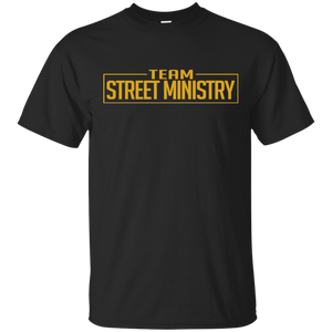 Team Street Ministry - Black w/Gold