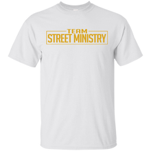 Load image into Gallery viewer, Team Street Ministry - White w/Gold Full Back