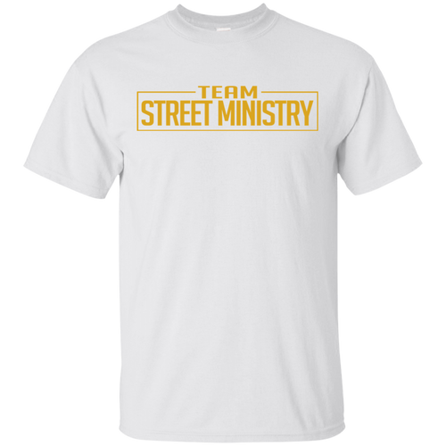 Team Street Ministry - White w/Gold Full Back