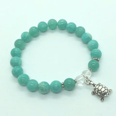 Hope ~ Amazonite ~ Stretch Bracelet
