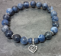 Communication ~ Sodalite ~ Stretch Bracelet