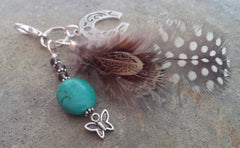 HorseFeathers! Turquoise Healing Charm