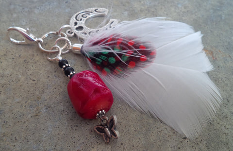 HorseFeathers! Red Sea Bamboo Healing Charm