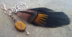 HorseFeathers! Tigers Eye Healing Charm