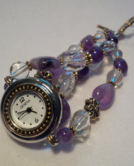 Amethyst Watch ~ 8 1/4 inches