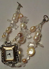 Pearl Watch ~ 8 1/2 inches