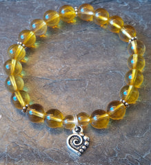 Mental Clarity ~ Citrine ~ Stretch Bracelet