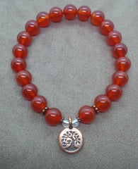 Creativity ~ Carnelian ~ Stretch Bracelet