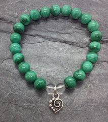 Manifestation ~ Malachite ~ Stretch Bracelet