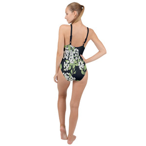Lily Dark High Neck One Piece Swimsuit