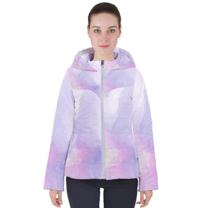 CW -11b color Women's Hooded Puffer Jacket