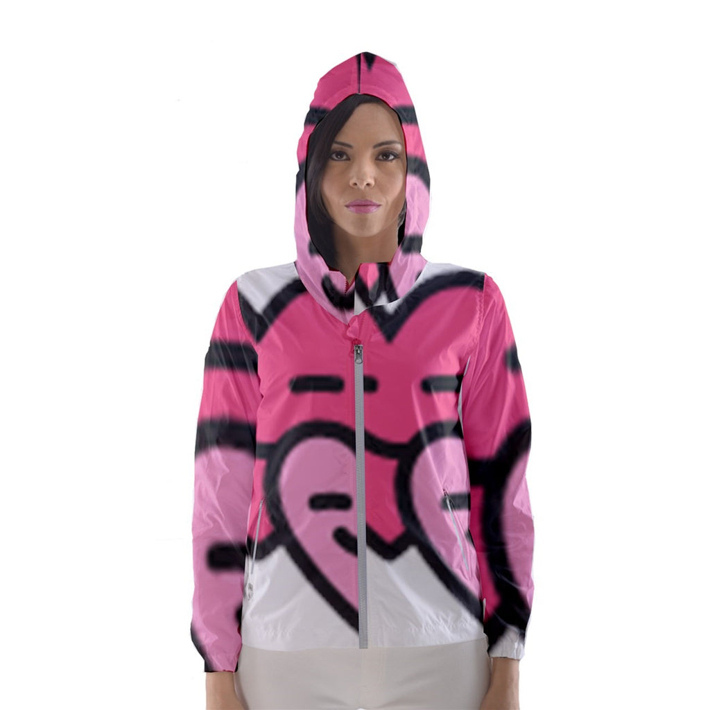 149 Women's Hooded Windbreaker