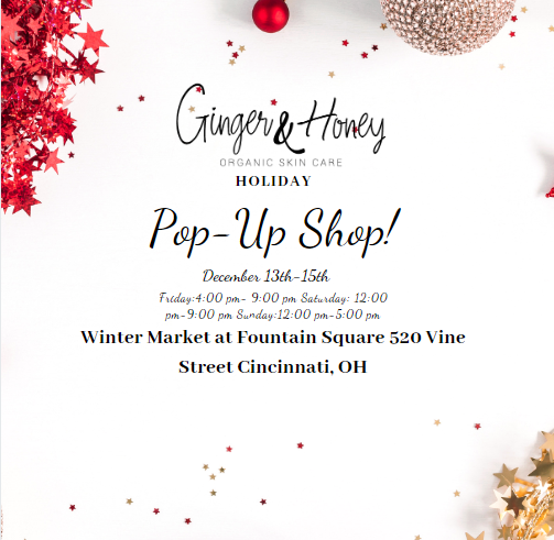 Come Join Us at The Winter Market at Fountain Square: HOLIDAY POP-UP SHOP!