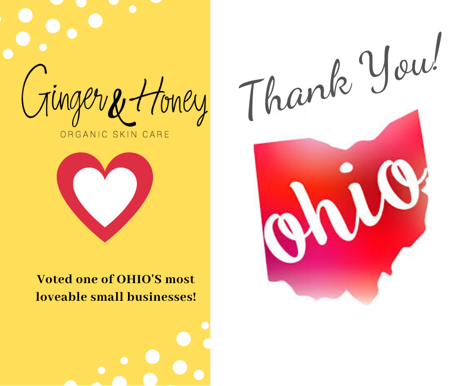 Ginger & Honey Voted on of OHIO'S most FAVORITE SMALL BUSINESSES!