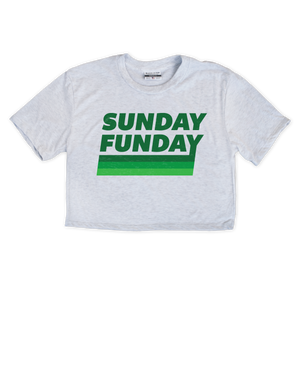Sunday Funday Women's Crop - Aphillyated