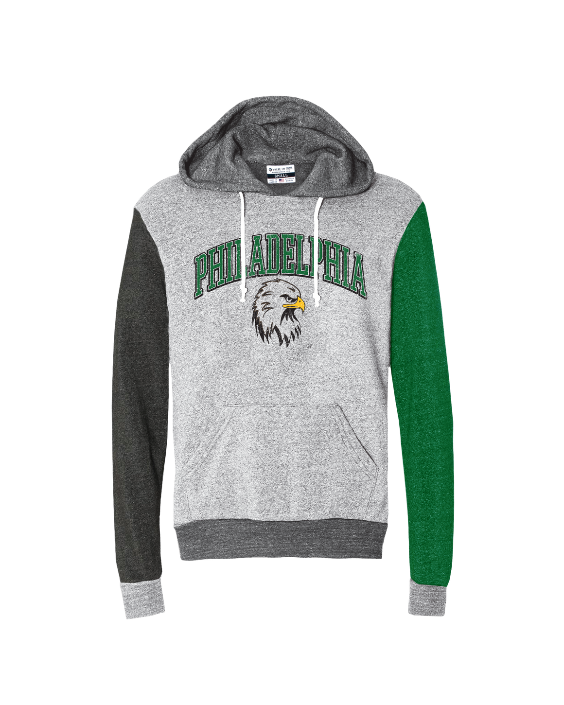 Philadelphia Arch Eagle Quad Hoodie - Aphillyated