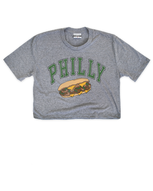 Philly cheesesteak Women's Crop - Aphillyated