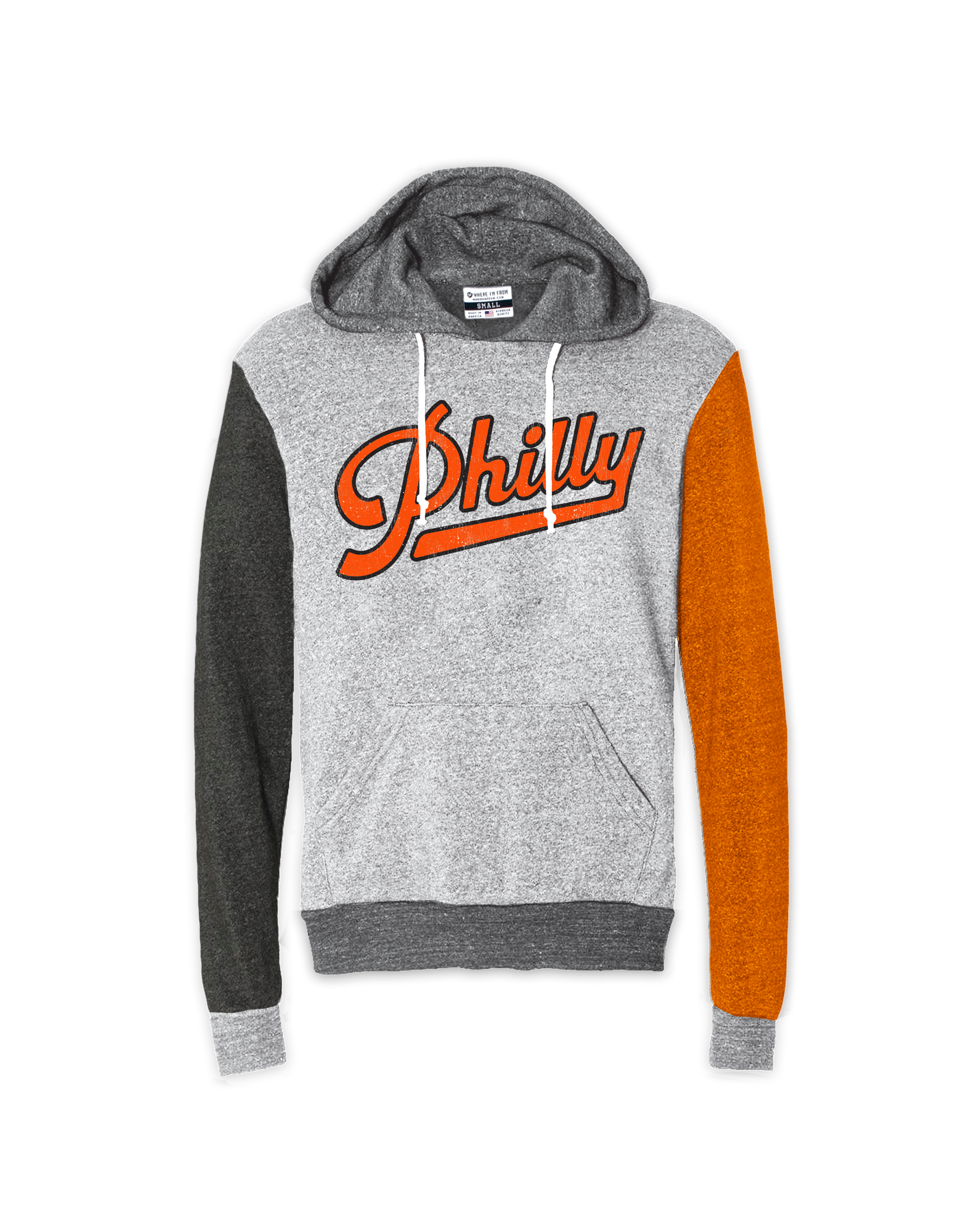 Philly Script Quad Hoodie - Aphillyated
