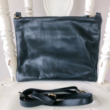 Load image into Gallery viewer, Bag Envy Black Leather Handbag
