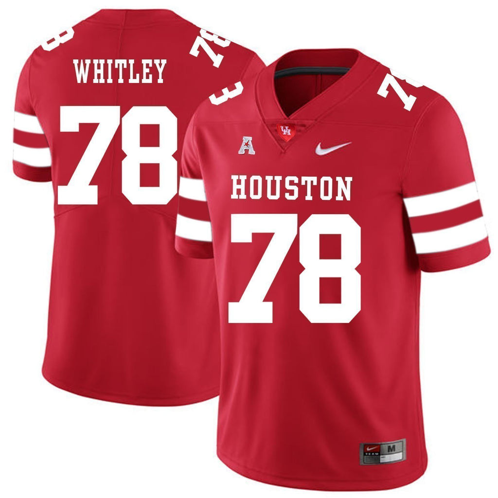 the best attitude 44b02 a5954 Wilson Whitley Houston Cougars Football Jersey - Red