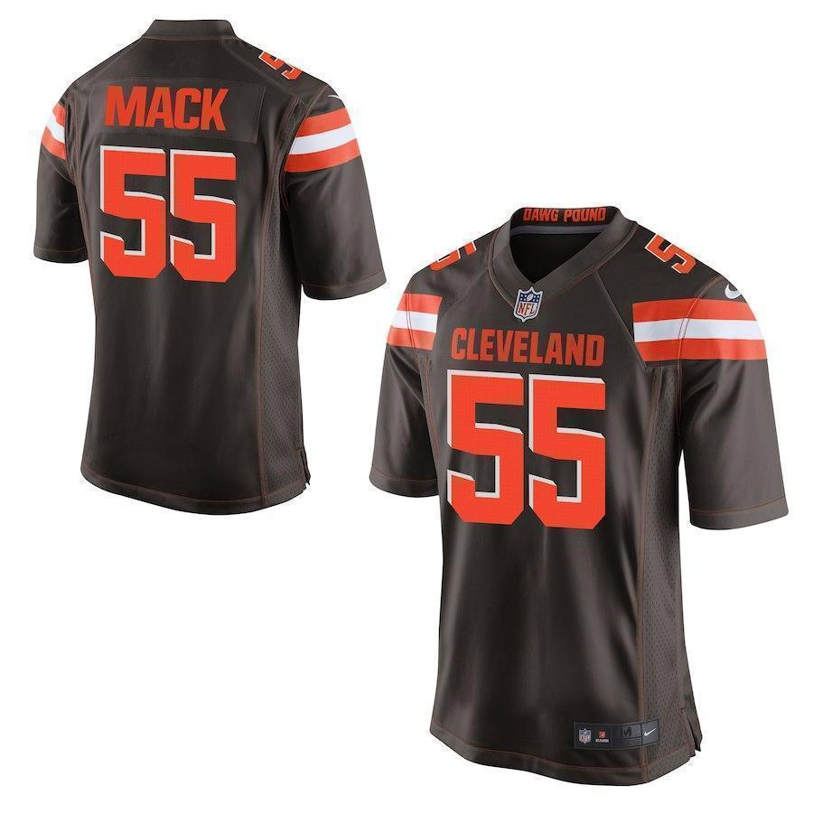 separation shoes 158f2 ad880 Alex Mack Cleveland Browns Game Jersey