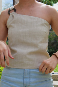 Único Top in Oat